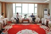 中国商飞C919外场试验队党委副书记巢沧海一行来访